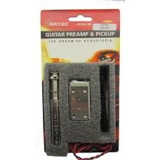 Предусилитель для акустической гитары с пьезодатчиком ARTEC EPP-PZ & PP-607