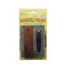 Магнитный звукосниматель хамбакер для акустической гитары ARTEC WSHD-WL-OSJ