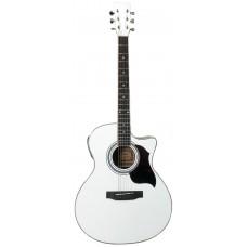 Гитара электроакустическая с вырезом Emio SWJ-210 CEQ WH, Emio, SWJ-210 CEQ WH