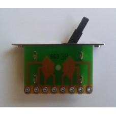 Переключатель 3-х позиционный ALPHA для электрогитары strat 3F01