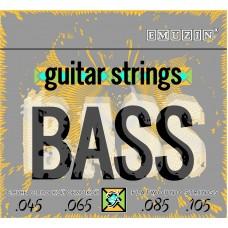 Струны для 4-струнной бас-гитары EMUZIN 4F45-105, EMUZIN, 4F45-105