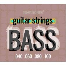 Струны для 4-струнной бас-гитары EMUZIN 4Sb40-100