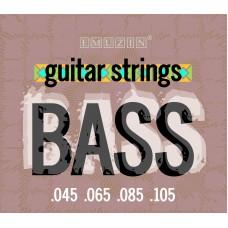 Струны для 4-струнной бас-гитары EMUZIN 4Sb45-105