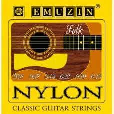 """Струны для классической гитары """"NYLON"""" EMUZIN 6С301"""