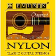 Струны для классической гитары NYLON EMUZIN 6С311