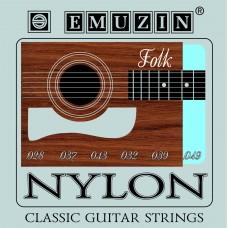 """Струны для классической гитары """"NYLON"""" EMUZIN 6С361"""