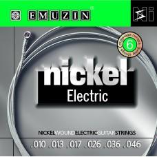 "Струны для электрогитары ""NICKEL ELECTRIC"" EMUZIN 6N10-46"