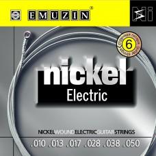 "Струны для электрогитары ""NICKEL ELECTRIC"" EMUZIN 6N10-50"