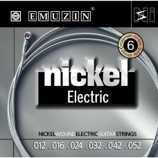 "Струны для электрогитары ""NICKEL ELECTRIC"" EMUZIN 6N12-52"