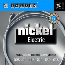 "Струны для электрогитары ""NICKEL ELECTRIC"" EMUZIN 6N8-38"