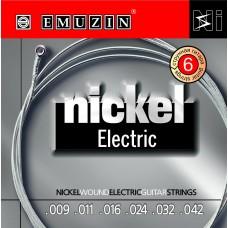 "Струны для электрогитары ""NICKEL ELECTRIC"" EMUZIN 6N9-42"