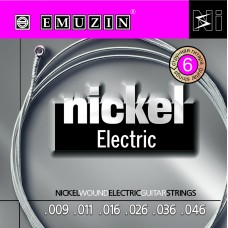 "Струны для электрогитары ""NICKEL ELECTRIC"" EMUZIN 6N9-46"