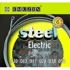 """Струны для электрогитары """"STEEL ELECTRIC"""" EMUZIN 6S10-50"""
