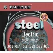 """Струны для электрогитары """"STEEL ELECTRIC"""" EMUZIN 6S11-50"""