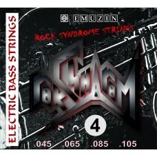 """Струны для 4-струнной бас-гитары """"Рок-Синдром"""" EMUZIN RSB45-105, EMUZIN, RSB45-105"""