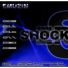 """Струны для электрогитары """"SHOCKERS"""" EMUZIN 6SR8-38"""