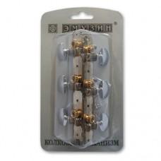 Механизм колковый для акустической гитары EMUZIN 6МК-11(80)