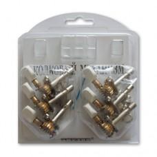 Механизм колковый для акустической и электрогитары EMUZIN МКЛ-10(6)